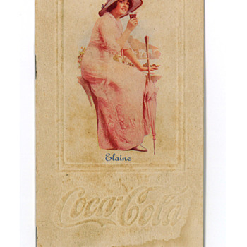 "1915 Coca-Cola ""The Universal Beverage"" Elaine Booklet"