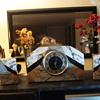 3 Pc. Marble Deco Clock