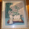 "Very Old Magnolia ""Art Deco"" Water Colors 1920's By Goes"