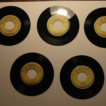 Elvis Presley Sun Label records - Records