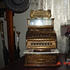 National Cash Register... Model 130...With Top Sign...From The 1880's