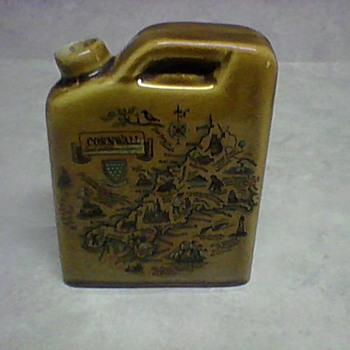 POTTERY FLASK