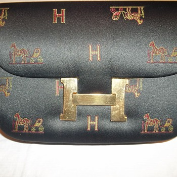 Horse and Carriage Vintage Handbag