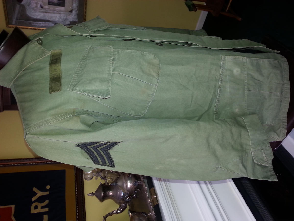 Army Fatigue Jacket