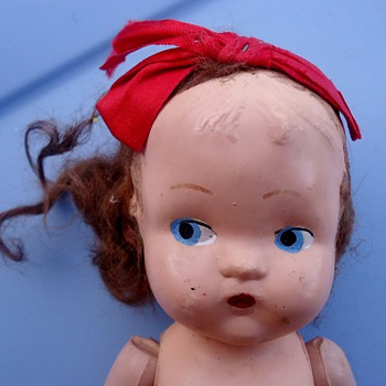 doll with no marks, possibly German? - Dolls