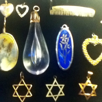 Assortment of Pendants - Costume Jewelry