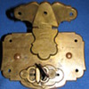 Antique Trunk Lock 1854