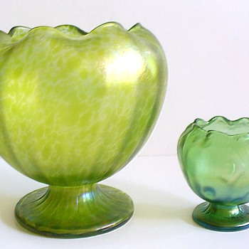 LOETZ:  MELON RIND CISELE, 1896-1900 - Art Glass