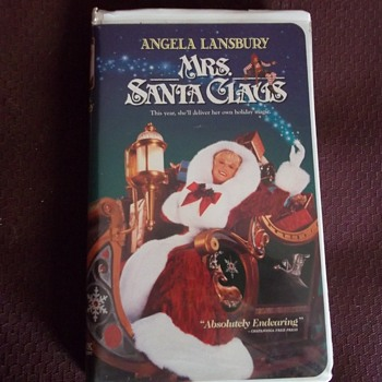 VHS  MRS. SANTA CLAUS. STARS ANGELS LANSBURY ( Murder She Wrote TV as Jessica Fletcher))
