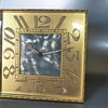 Large Swiss Easel Back Clock