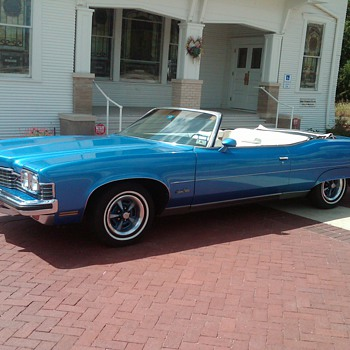 1973 Pontiac Grand Ville Convertible - Classic Cars