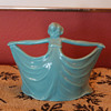 Standing Art Deco Lady Votive