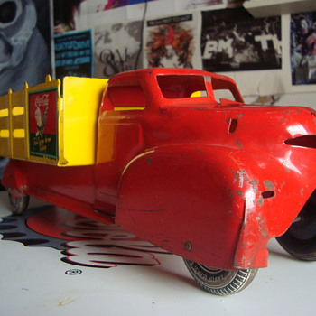 1940's Marx Coca-Cola Spriteboy Truck - Coca-Cola