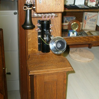 Add  A Western Electric &amp; Country Home Telephone Mfg. - Telephones