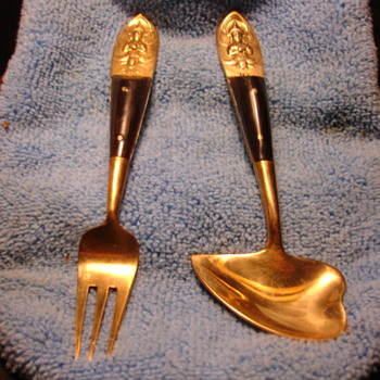 """SIAM"" FORK AND STRANGE SPOON - Asian"