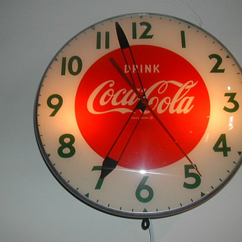 50&#039;s Coca-Cola Wall Clock by Swihart