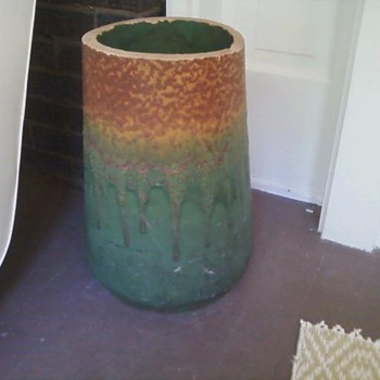 Rookwood Umbrella Stand - Art Pottery