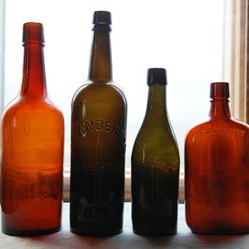 Antique Bottle Lot - Bottles