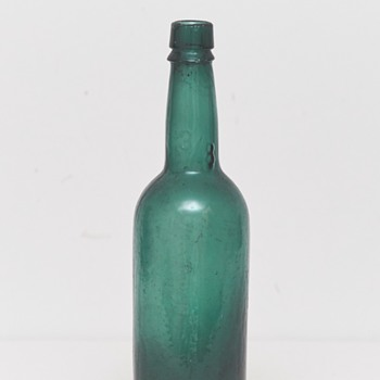Beer Bottle (Frederiksberg Glassworks, Denmark), ca. 1900 - Bottles