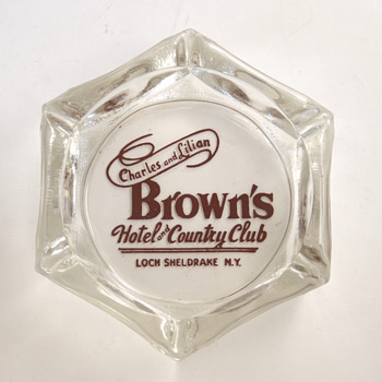 Brown's Hotel and Country Club Ashtray - Advertising