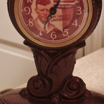 Lindbergh Lamp/Clock Works