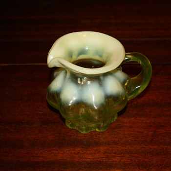 Little creamer depression glass?