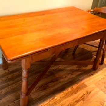 Grandma's Kitchen Table  - Furniture