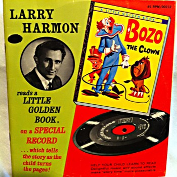 'Bozo the Clown' read by Larry Harman - Books