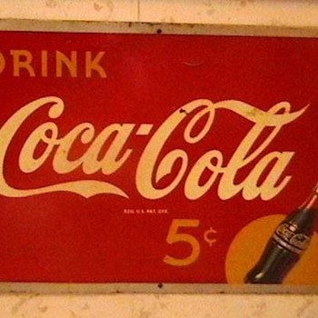 1940s Coca-Cola Sign