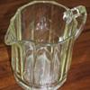 Antique Glass Pitcher