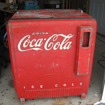 1930&#039;s 1940&#039;s Westinghouse Coca Cola Cooler