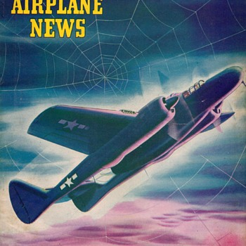 "1944 - ""Model Airplane News"" Magazine (October) - Paper"