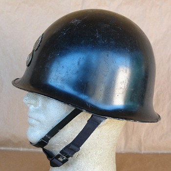 France Gendarmerie Nationale Mle51 helmet - Military and Wartime