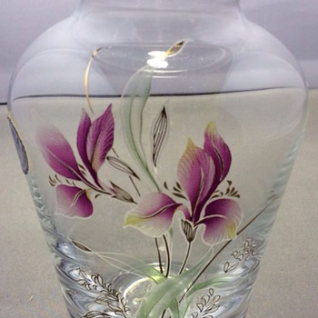 Vintage bothie vase - Art Glass