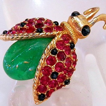 Fantastic Marcel Boucher Bug Brooch - Costume Jewelry