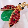 Fantastic Marcel Boucher Bug Brooch