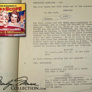 Marilyn Monroe&#039;s Personal Script - Movies