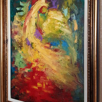 Bertalan Bodnar Original Oil Painting