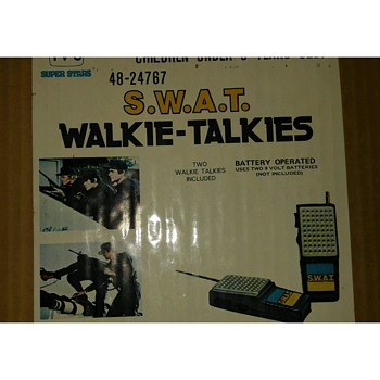 tv show swat walkie talkies - Toys