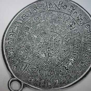 Hieroglyphics on a pendant???? - Costume Jewelry