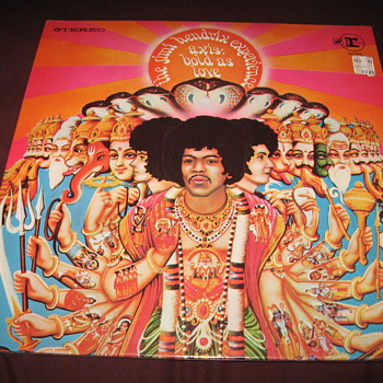 Jimi Hendrix &quot;Axis: Bold as Love&quot; Vinyl in shrink wrap
