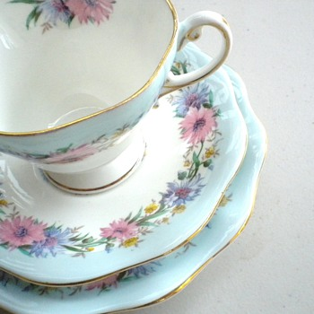 Cornflower English Tea Cup - China and Dinnerware