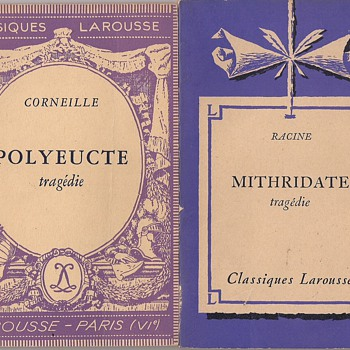 Classiques Larousse - Polyeucte and Mithridate  - Books