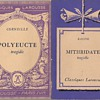 Classiques Larousse - Polyeucte and Mithridate