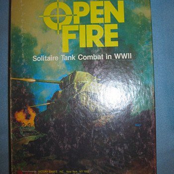 "Game Module ""Open Fire"", WWII RPG"