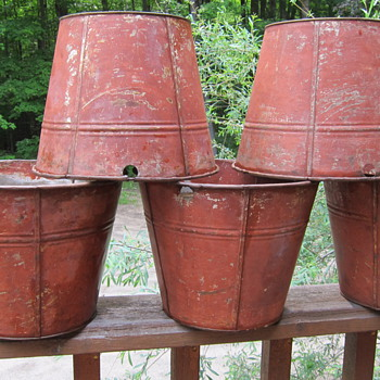 Old Sap Buckets