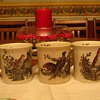 Game Bird Coffee Cups made in England