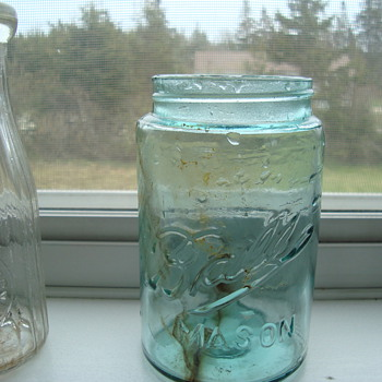 some more nice old bottles fro a dump  - Bottles