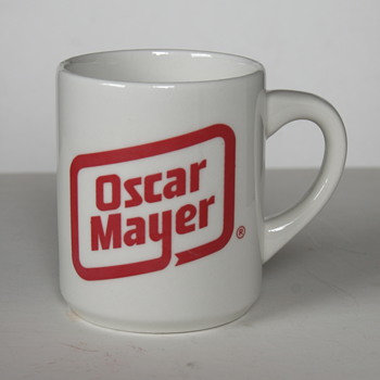Two Oscar Mayer Promotional Mugs.... - Advertising