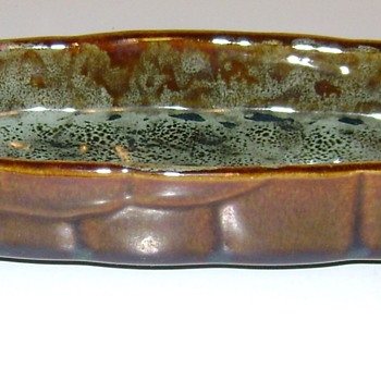 American Bisque Pottery - Olive Boat